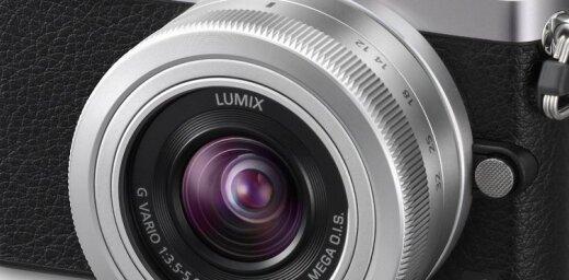 'Panasonic' prezentē līdz šim mazāko 'm43' formāta fotokameru 'Lumix GM1'