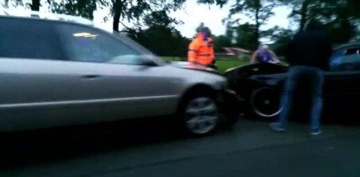 Video: Uz Vidzemes šosejas pie Siguldas saduras divi auto