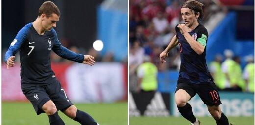 Сегодня — финал чемпионата мира. Кто возьмет золото — Франция или Хорватия?