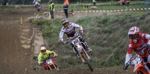 Latvijas Junioru izlase motokrosā Nākotnes cerību kausa sacensībām kvalificējas 8.vietā