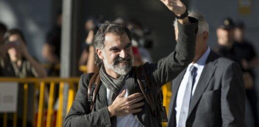 Суд в Мадриде арестовал двух лидеров каталонских сепаратистов