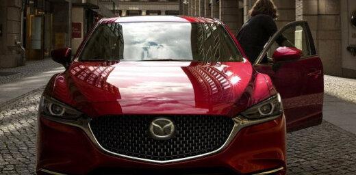 'Mazda6' modernizētā versija ar augstākas kvalitātes apdari