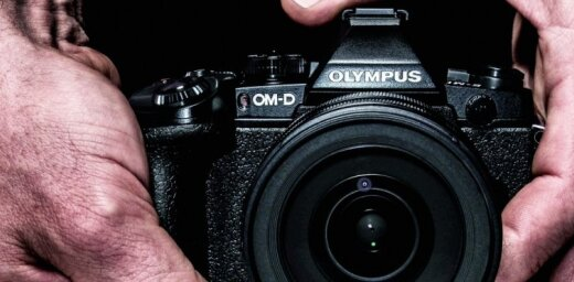 'Olympus' fotokameru jaunais flagmanis 'OM-D E-M1'