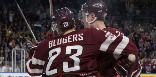 Bļugeram otrais rezultativitātes punkts sezonā; Kivlenieks debitē AHL