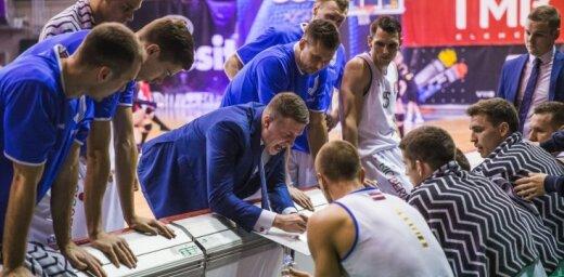 'Jūrmalas' basketbolisti LBL bronzas sērijas pirmajā mačā sīvā cīņā uzvar 'Ogri'