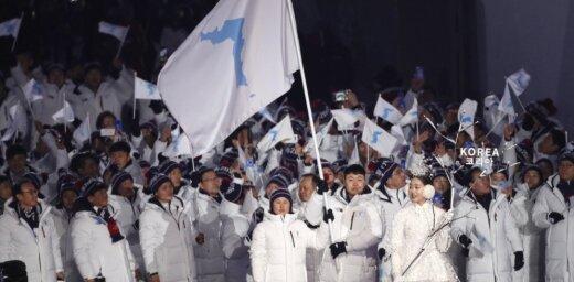 Ziemeļkoreja un Dienvidkoreja Āzijas spēlēs startēs zem viena karoga