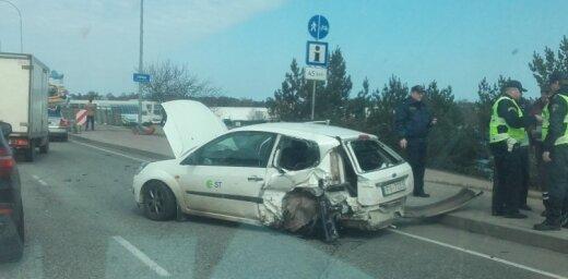 Video: Četru auto avārija uz Lielupes tilta
