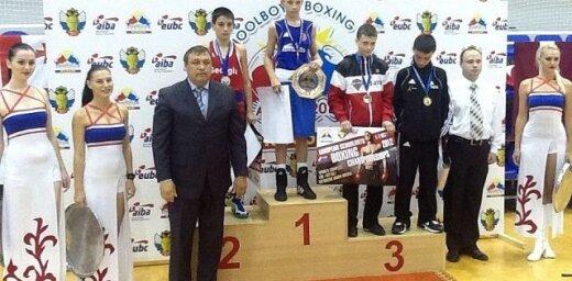 Latvijas skolnieks Eiropas boksa čempionātā ieguvis bronzu