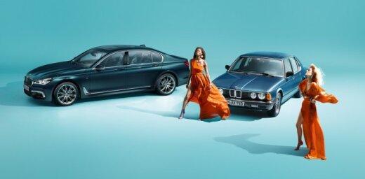 BMW 7. sērijas 40 gadu jubilejā – speciālā versija