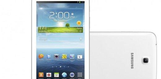 'Samsung' prezentē 'Galaxy Tab 3' planšetdatoru