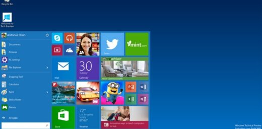 Новая операционная система Windows 10 станет бесплатной
