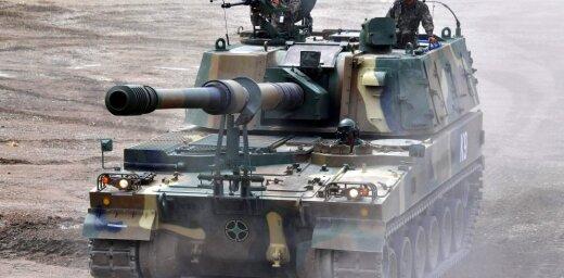 Igaunija par 40 miljoniem pirks 12 korejiešu lepnumus 'K9 Thunder'