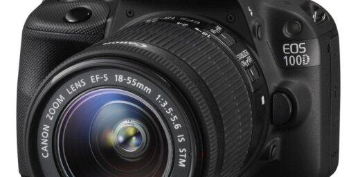'Canon' iepazīstina ar 'EOS 700D' un līdz šim mazāko spoguļkameru 'EOS 100D'