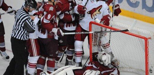 Andris K: Rīgas 'Dinamo' pret Fīniksas 'Coyotes'