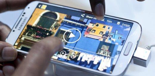 'Samsung' prezentē viedtālruni 'Galaxy S4'