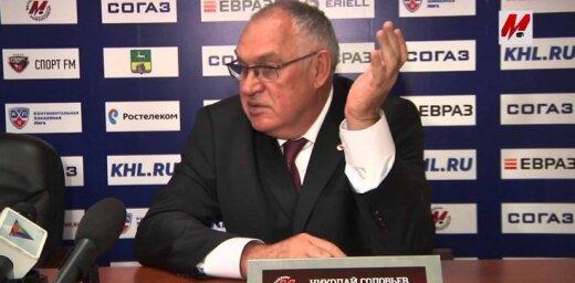 Nikolaj Solovjov, couch Metalurga Novokuznecka