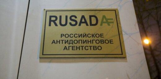 WADA patur spēkā Krievijas Antidopinga aģentūras diskvalifikāciju