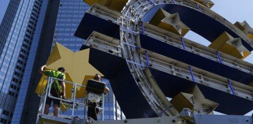 ECB obligāciju iegādes programmā uzpirkti Latvijas vērtspapīri par 1,544 miljardiem eiro