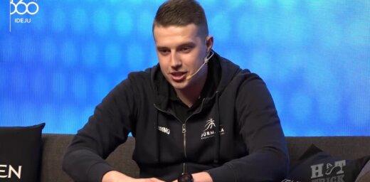 Video: BK 'Jūrmala' galvenais treneris Gulbis komentē savu karstasinīgo dabu