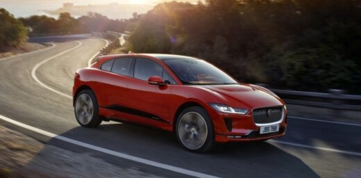 'Jaguar' prezentējis elektrisko apvidnieku 'i-Pace'