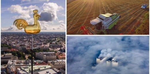 Latvija drona acīm – lasītāji dalās ar iespaidīgiem fotoattēliem un video