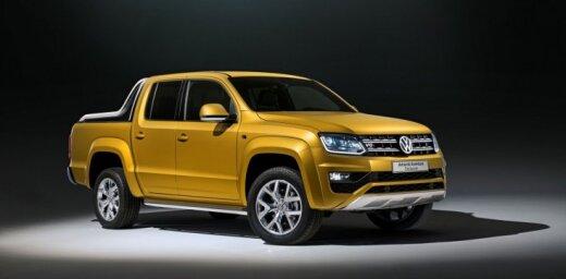VW prezentējis divus jaunus 'Amarok' pikapa prototipus