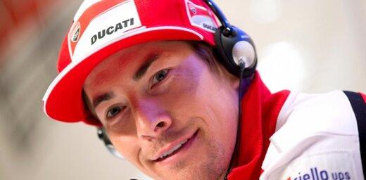 Ducati MotoGP rider Hayden