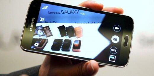 'Samsung' atklāj jauno 'Galaxy S5' viedtālruni