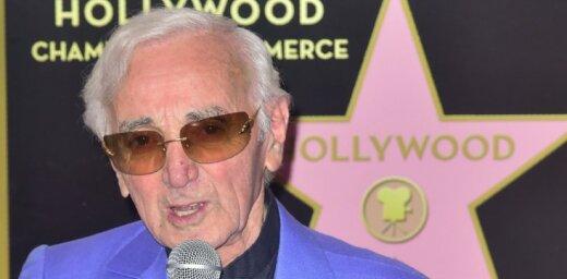 94 gadu vecumā miris dziedātājs un aktieris Šarls Aznavūrs