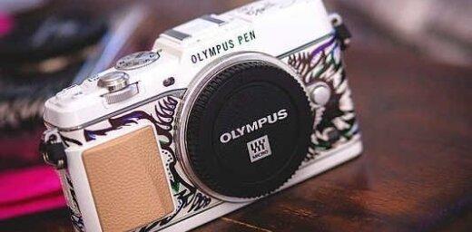 Ekskluzīva 'Olympus' fotokamera par 13 tūkstošiem latu