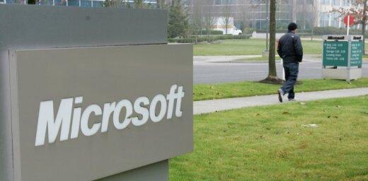 'Microsoft' gūst rekordlielu peļņu; 'Windows' pārdošanas apjomi krīt