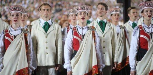 Dziesmu svētku pārraides televīzijā vērojuši vairāk nekā miljons cilvēku