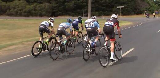 Neilands finišē 36. vietā 'Herald Sun Tour' pirmajā posmā