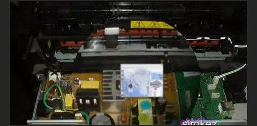 Printerī atrod beigtu peli (video)