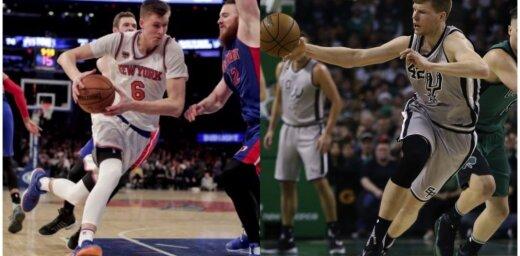 Dāvis Bertāns uzsāk jauno NBA sezonu; rindas kārtībā arī Porziņģa starts
