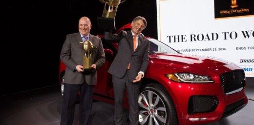 Par Pasaules Gada auto atzīts 'Jaguar F-Pace' apvidnieks