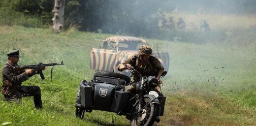 Kurzemes kaujas rekonstrukcija Tērvetē