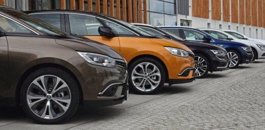 Baltijā dārgākos auto izvēlas igauņi, liecina aptauja