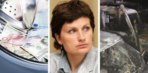 20 апреля. Российская оргпреступность в Латвии, депутата Сейма сбила машина, пожар в Риге
