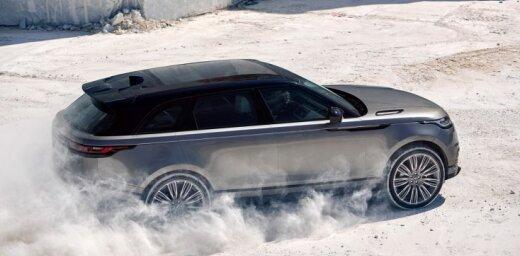 'Land Rover' oficiāli atklājis jauno 'Range Rover Velar'