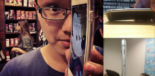 """И всё-таки он гнётся: люди всё жалуются на """"искривляемость"""" новых Apple iPhone 6 Plus"""
