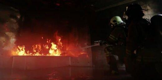 Video: NBS ugunsdzēsēji 'Northern Strike' mācībās trenējas kopā ar ASV kolēģiem