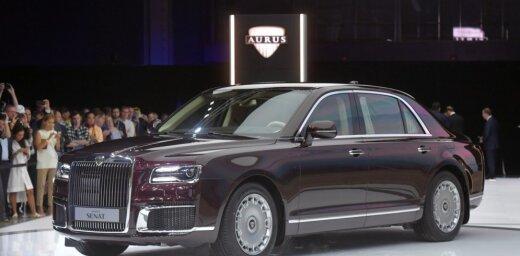 Putina limuzīns 'Aurus Senat' prezentēts arī tautai pieejamā versijā