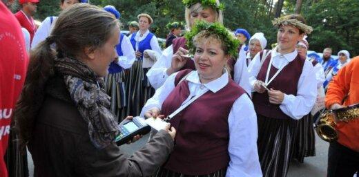 Dziesmu svētku rīkotāji iesaka uz noslēguma koncertu ierasties laicīgi un ģērbties silti
