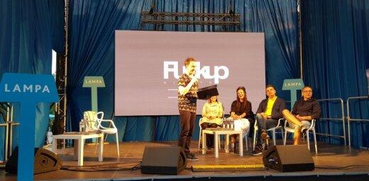 'Politiskā arēna', spraigas debates un sarunas – izskan 'Lampas' pirmā diena. Teksta tiešraides arhīvs