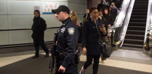 ASV lielākajā autoostā Ņujorkā spridzekli ienesis 'terorists-amatieris'