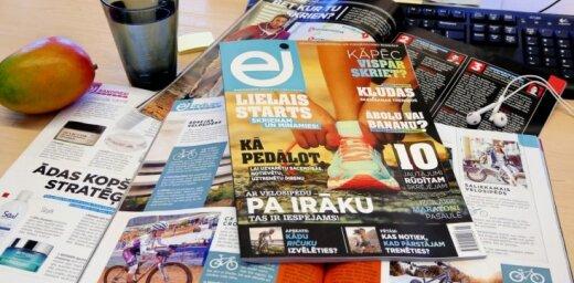 Iznāk jauns aktīva dzīvesveida žurnāls 'EJ'