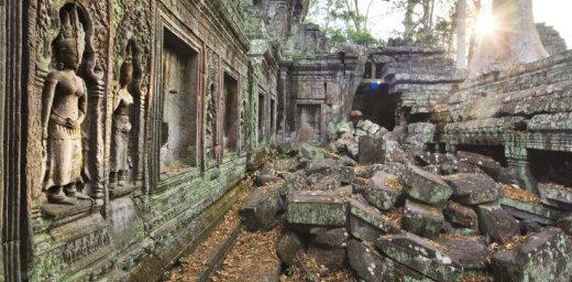 Ceļ gaismā jaunus Khmeru impērijas noslēpumus