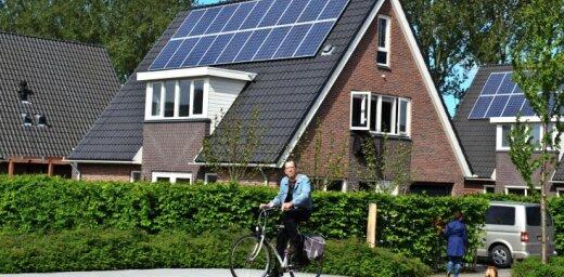 Nīderlandē darbinieki par braukšanu uz darbu ar divriteni varētu saņemt atlīdzību