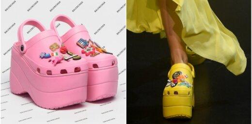 Augstās modes pārpratums: 'krokši' ar platformas zoli
